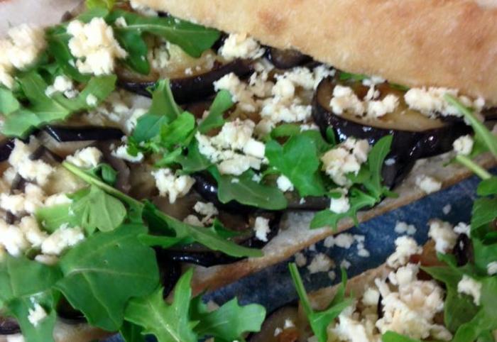 eggplant sandwiche